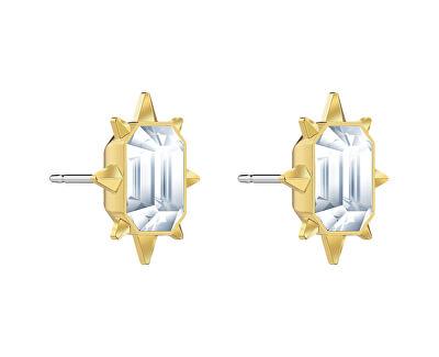 Pozlacené náušnice pecky s krystaly Swarovski Tarot 5494019 - SLEVA