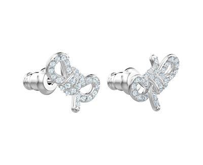 Půvabné náušnice s krystaly Swarovski Lifelong Bow 5492257 - SLEVA