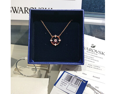 Růžově zlacený náhrdelník North 5488400, 5516000