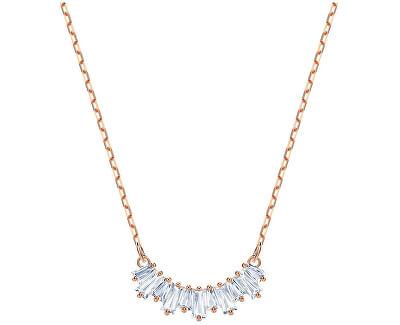 Bronzový náhrdelník s trblietavými kryštálmi Sunshine 5459590