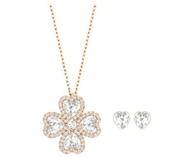Luxusní sada náušnic a náhrdelníku Deary 5259170 (náušnice, náhrdelník) - SLEVA