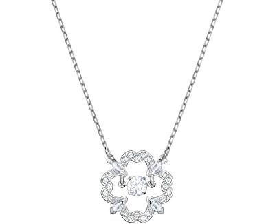 Stylový náhrdelník s kytičkou SPARKLING DANCE 5392759
