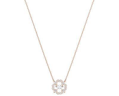 Stylový náhrdelník s kytičkou SPARKLING DANCE 5408437