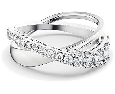 Třpytivý dvojitý prsten TWIST 5572716