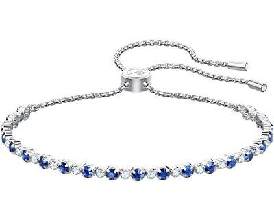 Třpytivý náramek s modrými krystaly Subtle 5465383