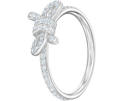 Trblietavý prsteň s mašličkou Lifelong Bow 5474934