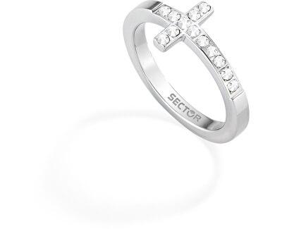 Inel netradițional de oțel cu zirconii SADO39018