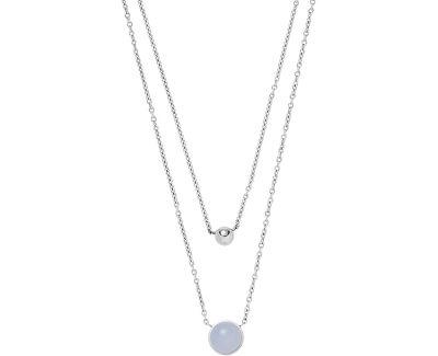 Dvojitý ocelový náhrdelník Sea Glass SKJ1436040