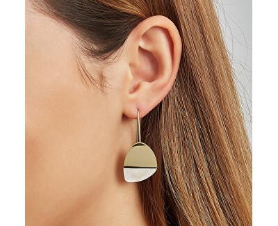 Elegantní bicolor náušnice s perletí Agnethe SKJ1298998