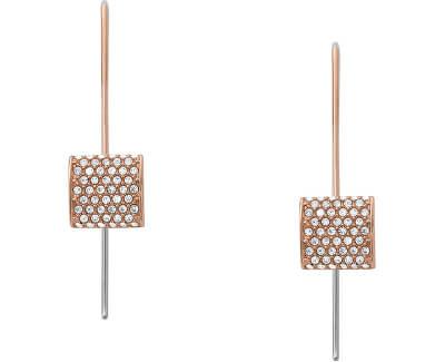 Luxusní bicolor náušnice s krystaly Elin SKJ1402791