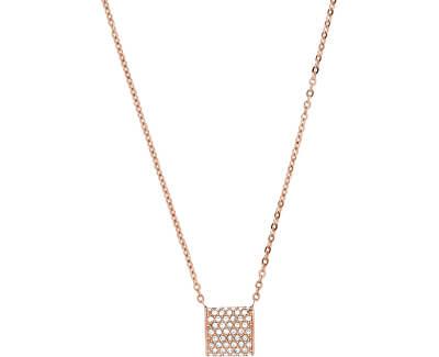 Luxusní bronzový náhrdelník s krystaly Elin SKJ1401791
