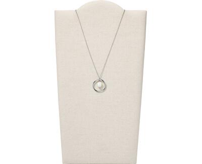 Luxusní ocelový náhrdelník s pravou říční perlou Agnethe SKJ1395040