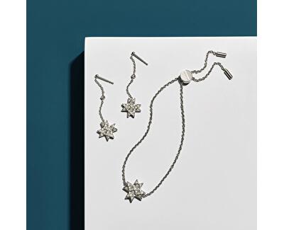 Cercei din oțel cu cristal stele SKJ1260040