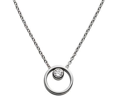 Colier din oțel cu un cristal de damă SKJ0833040