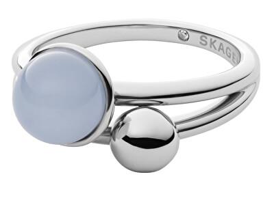 Moderní ocelový prsten Sea Glass SKJ1437040