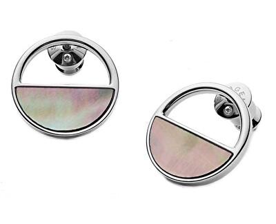 Cercei din oțel cu perle SKJ1120040