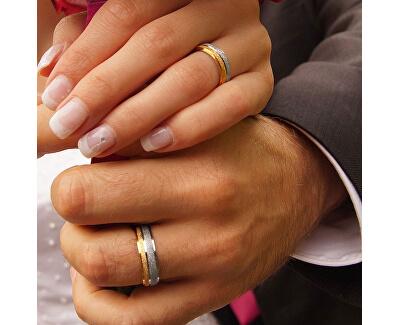 Snubní ocelový prsten Flers RRC0365