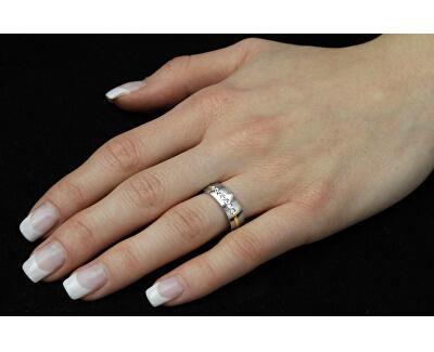 Snubní ocelový prsten pro ženy PARIS RRC2048-Z