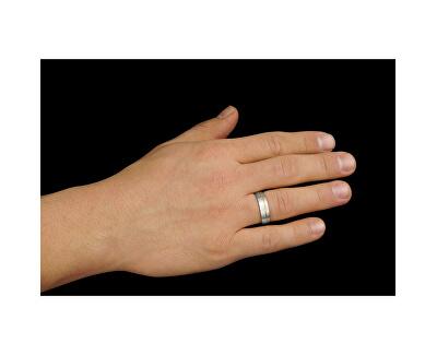 Snubní ocelový prsten pro muže PARIS RRC2048-M