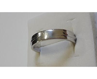Trblietavý strieborný prsteň so zirkónmi M16020 - ZĽAVA