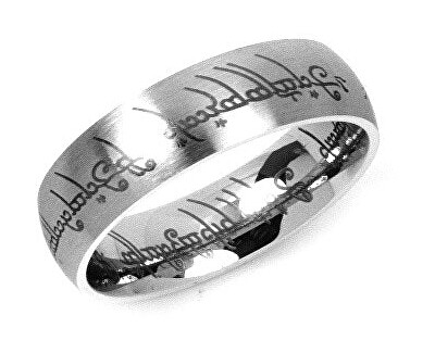 Ocelový prsten moci z filmu Pán prstenů RRC2010