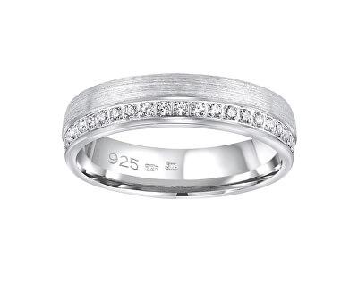 Snubní stříbrný prsten Paradise pro ženy QRGN23W