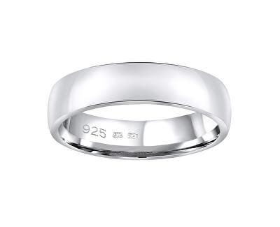 Snubní stříbrný prsten Poesia pro muže i ženy QRG4104M