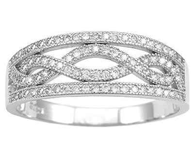 Stříbrný prsten Aida JJJR0120
