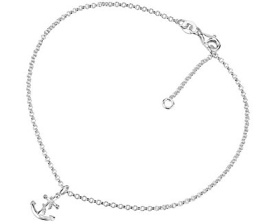 Lanț de picior din argint cu Vesper și Ancoră ZTD26509