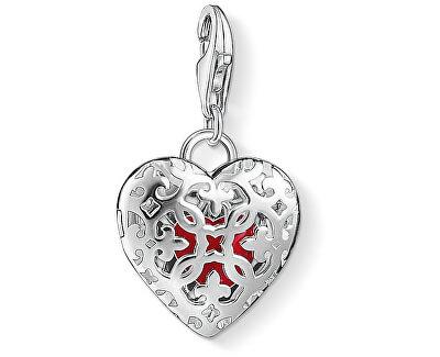 Strieborný prívesok Zamilovaný medailón 1313-007-10