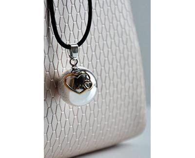 Dámsky náhrdelník Rolnička srdiečka BS20