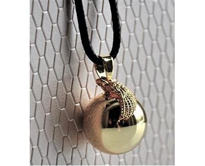 Pozlátený náhrdelník Rolnička anjelské krídlo EZ20