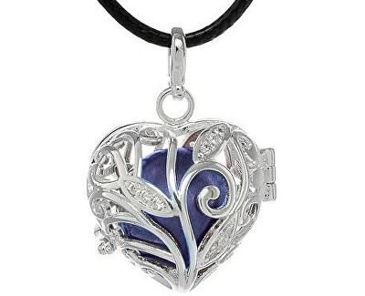 Dámsky náhrdelník Rolnička Srdiečko K13SM18