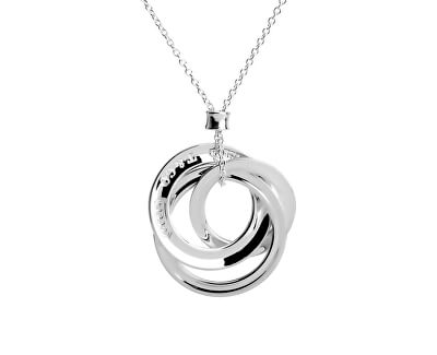 Luxusní stříbrný náhrdelník 29430128 + originální balení