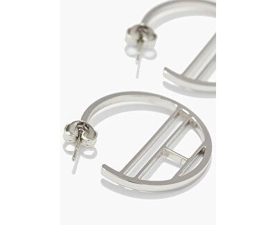 Designové ocelové náušnice kruhy TH2780328
