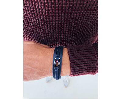 Hnedý kožený náramok TH2790027