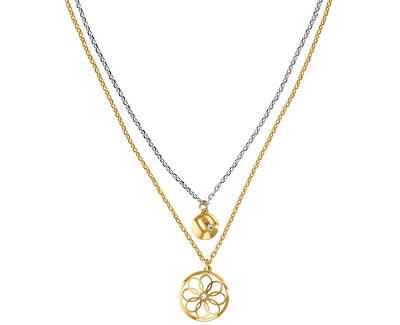 Bicolor oceľový náhrdelník TH2780068