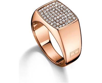 Inel de bronz cu cristale TH2700734