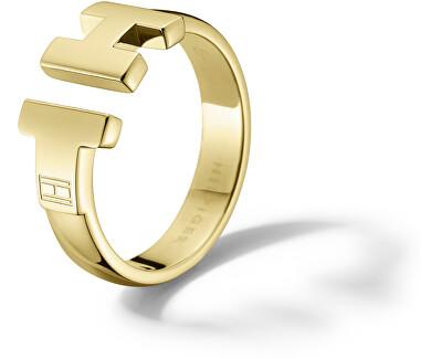 Luxus Gold Ring aus Edelstahl TH2700863