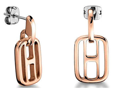 Cercei din oțel placați cu aur TH2700723