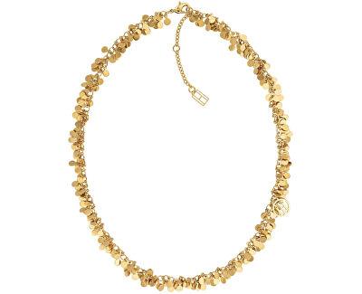 Pozlátený peniažkový náhrdelník TH2780018