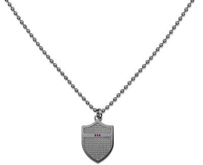 Graue Halskette mit Schild TH2700896