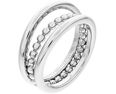 Štýlový oceľový prsteň TH2701101