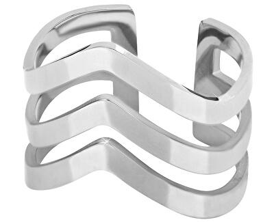 eleganter dreifacher Ring aus Stahl