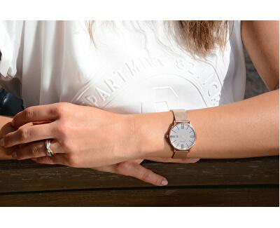 Ocelový tricolor prsten KRS-247