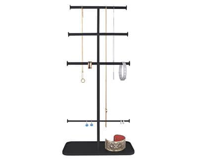 Elegantní stojan na šperky Black Stand