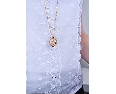 Multifuktionale vergoldete Halskette mit austauschbarer Mitte 132472D
