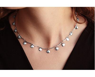 Mušličkový náhrdelník z ocele