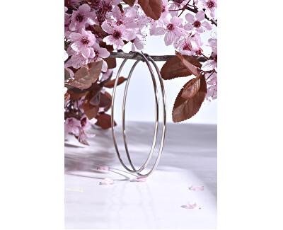 Ocelové náušnice kruhy 2 - 8 cm