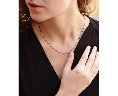 Srdiečkový oceľový náhrdelník